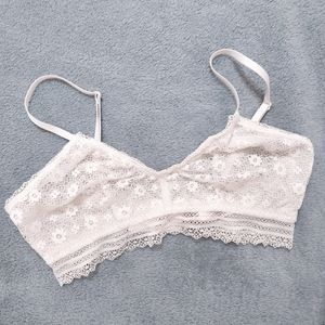 Victoria's Secret White Lace Bralette